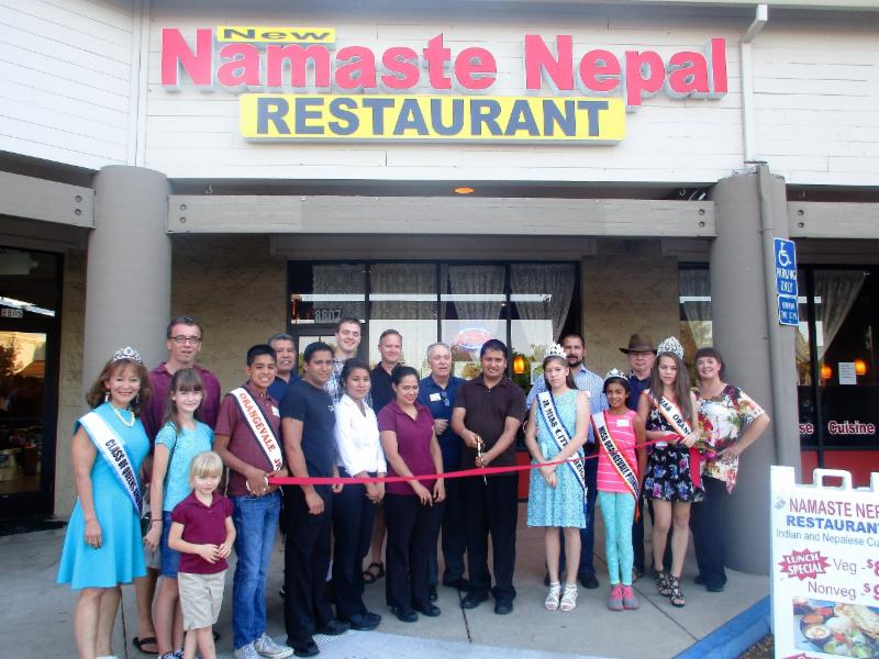 NEW NEPAL RIBBON CUT